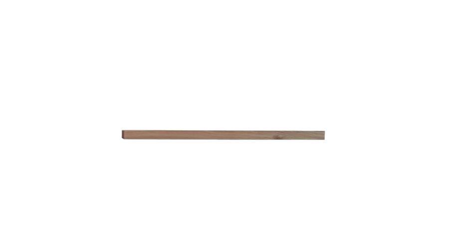 Półka wisząca I 120 cm – orzech amerykański – Lissy