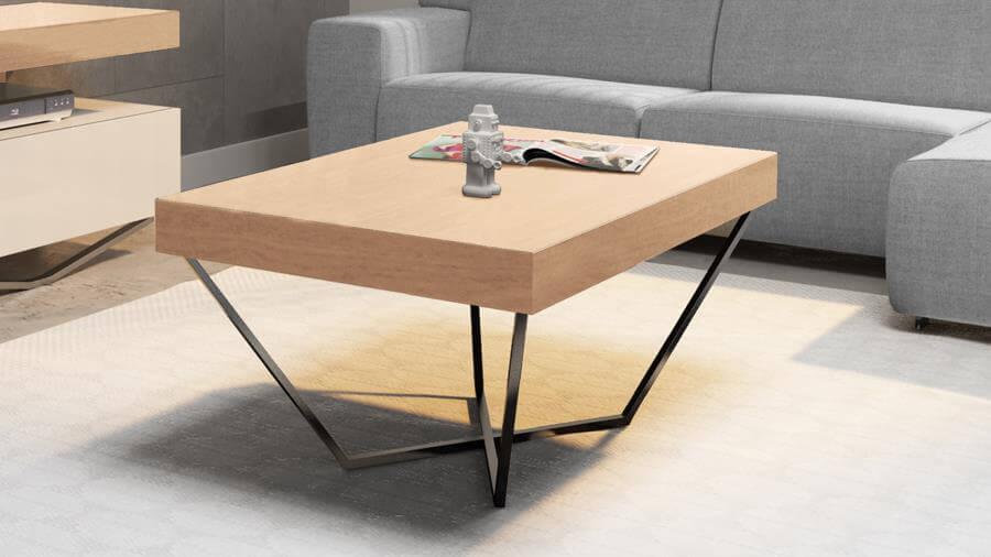 Ława 100×60 stolik kawowy SPIDER – RIMINI STANDARD – Lissy