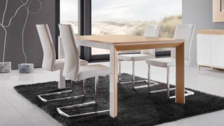 Stół jadalniany rozkładany metalowy 180 / 240 – RIMINI STANDARD