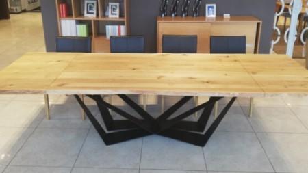 Stół SPIDER 180/300 rozkładany (dostawki 2×60 cm)
