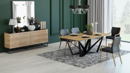Stół SPIDER SLIM 200 / 280 cm rozkładany (wstawki 2 x 40 cm)
