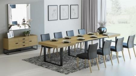 Stół rozkładany 180 / 380 cm PARTY