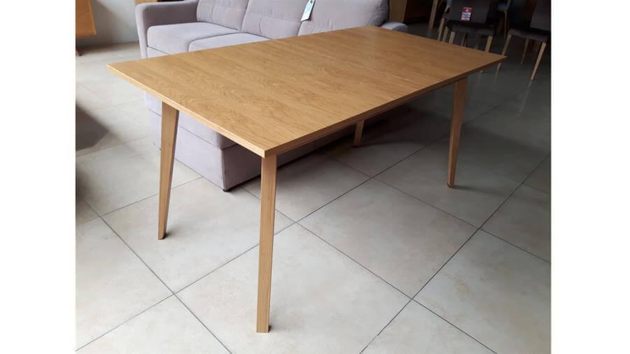OUTLET Stół rozkładany 150 / 195 cm – SAGA