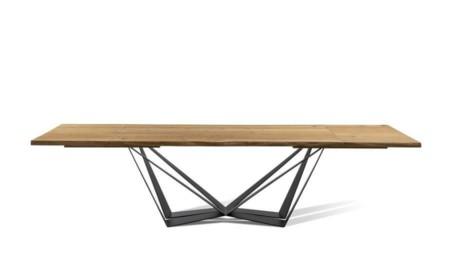 Stół SPIDER 180 / 300 cm rozkładany (dostawki 2 x 60 cm)