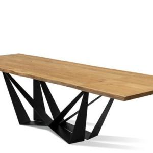 Stół SPIDER 180 / 300 cm rozkładany (dostawki 2 x 60 cm) – Lissy