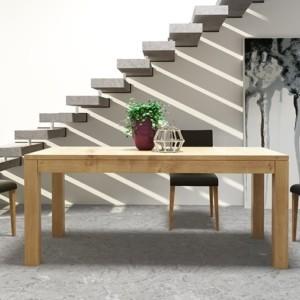 Stół 160 / 230 cm bez intarsji, rozkładany – CUBE