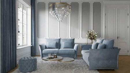 Sofa z funkcją spania VERONA 140 – Befame