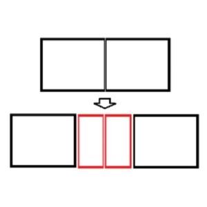 Stół SPIDER SLIM 200 / 280 cm rozkładany (wstawki 2 x 40 cm) – Lissy