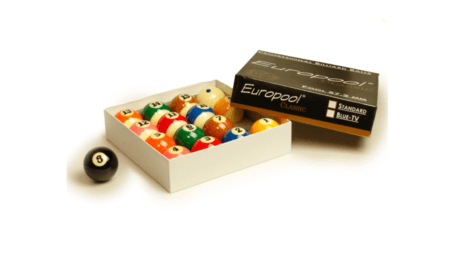 KOMPLET BIL EUROPOOL CLASSIC BLUE TV 57,2 mm