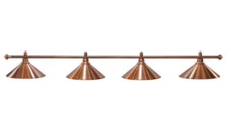 Lampa ELEGANCE 4 klosze brąz