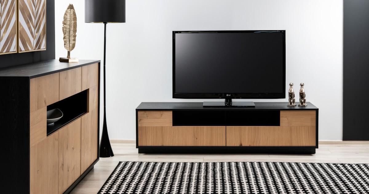Designerska szafka pod tv zanetti