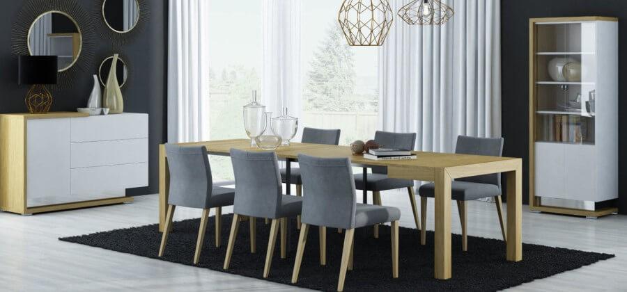 gdzie ustawić stół w salonie?