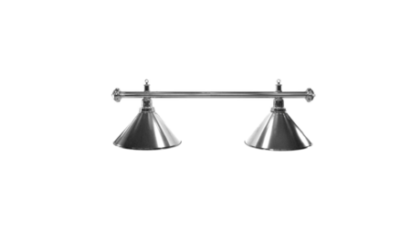 Lampa Elegance 2 klosze srebrne