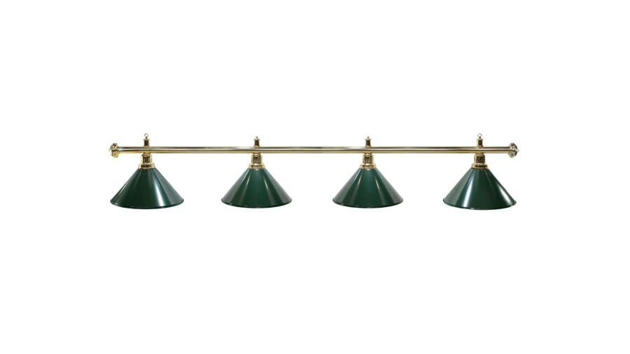 Lampa ELEGANCE 4 klosze zielone