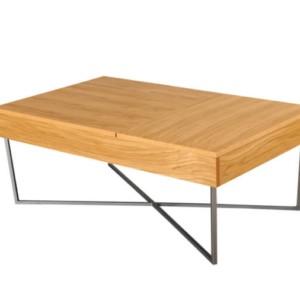 Ława LIFT DĄB 99×60 – stolik kawowy – Lissy