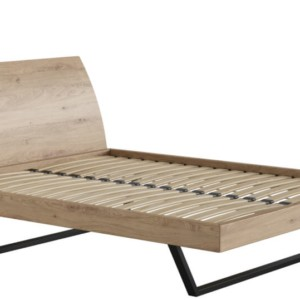 Łóżko 160×200 – LUGO dąb sękaty – Lissy