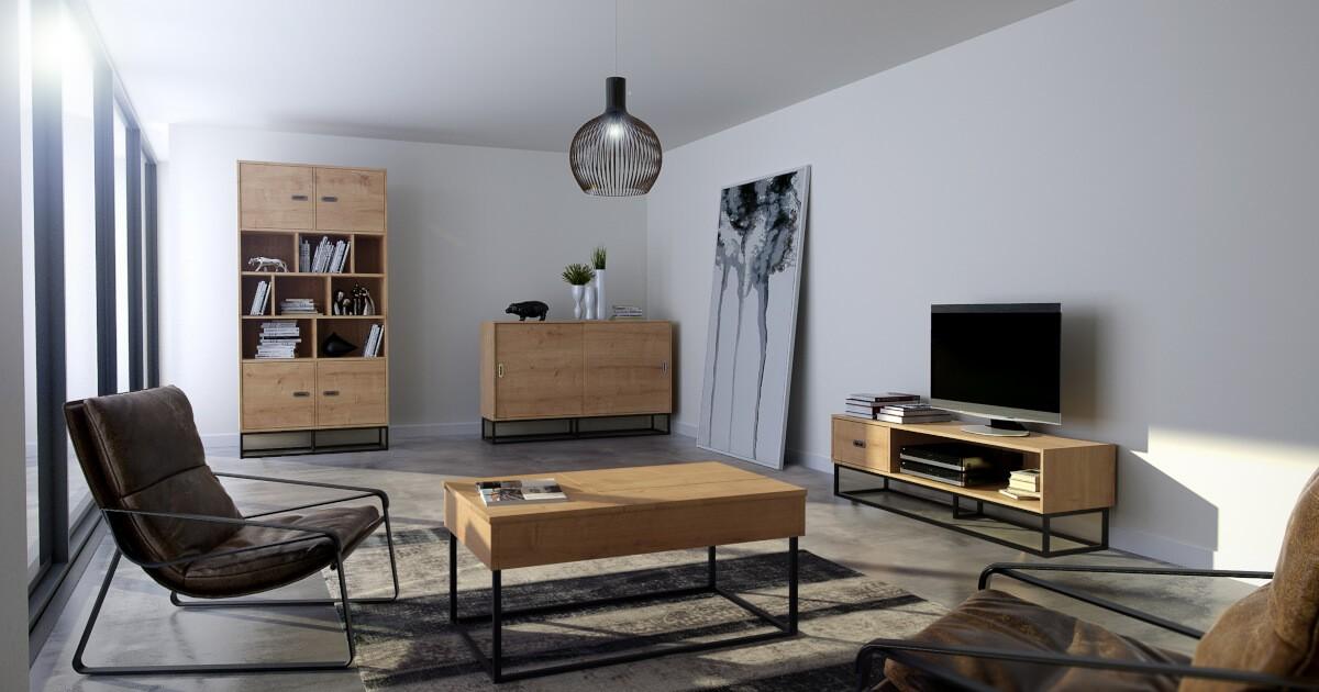 Види меблів в стилі лофт