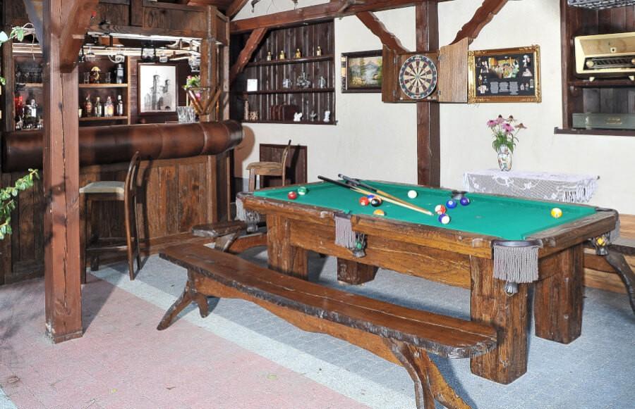 Ogrodowe stół bilardowy do barów