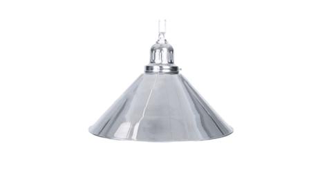 Lampa ELEGANCE 1 klosz srebrny
