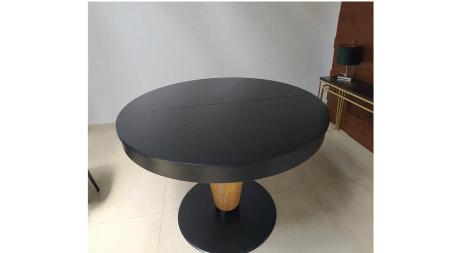 OUTLET – Stół okrągły rozkładany 130/195