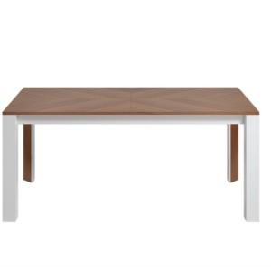 Stół 180 / 240 cm metalowy rozkładany RIMINI PREMIUM