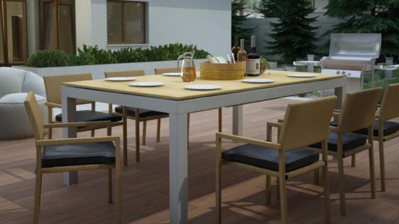 Stół do ogrodu i bilarda