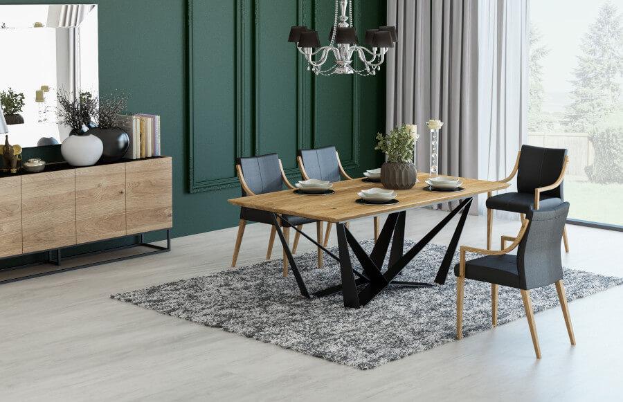 Stół industrialny loftowy