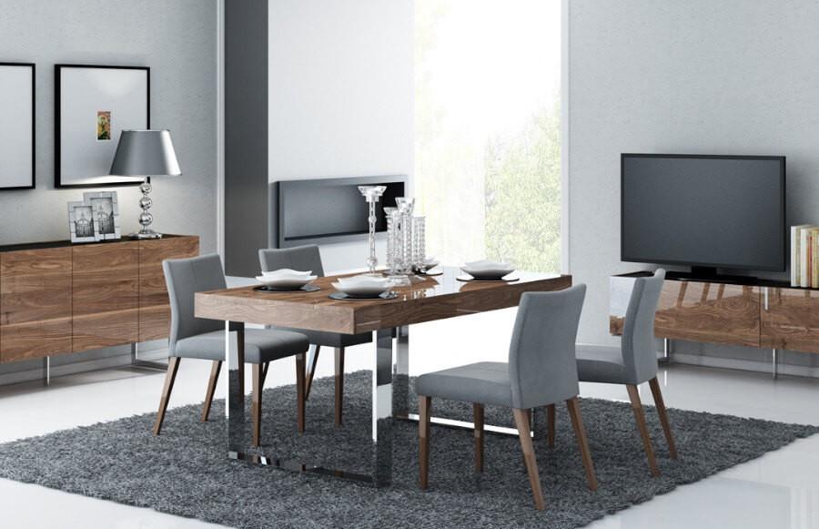 Stół metalowy - nowoczesny