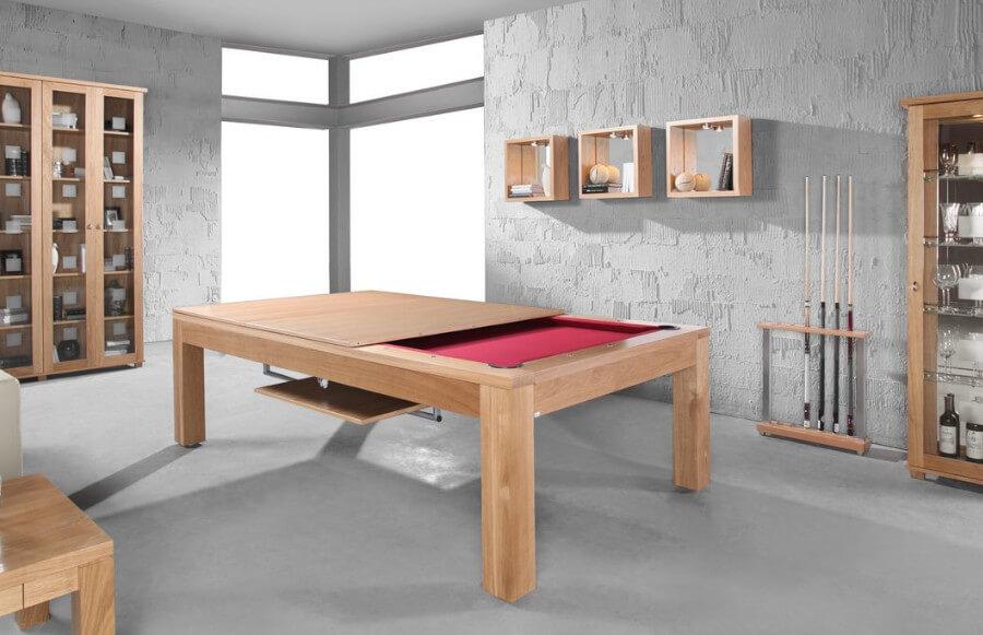 Stół z funkcją bilarda