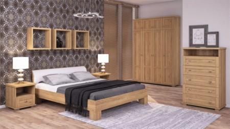 Łóżko bez pojemnika 160×200 – WIDE