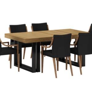 Stół rozkładany 180 / 380 cm FAMILY – Lissy